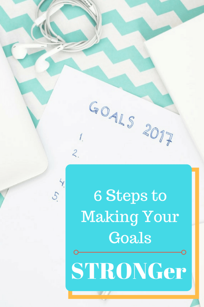 Learn how to set great goals with the STRONG method
