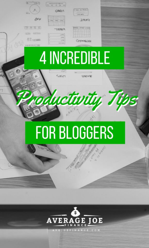 productivity tips every blogger should know