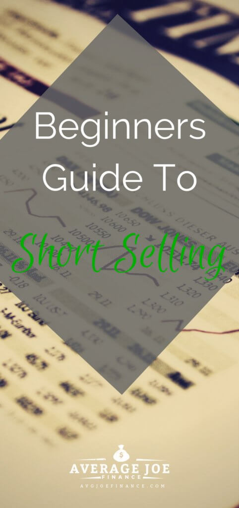 Learn the basics of short selling stock