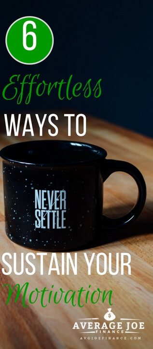 6 simple ways to stay motivated